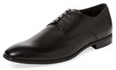 a. testoni Plain-Toe Derby Shoe
