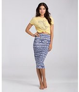 Billabong Junior's New Beat Fitted Midi Skirt