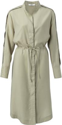 Ya-Ya 1801220 Woven Cargo Shirt Dress - 36