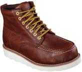 Skechers Men's Relaxed Fit Pettus Grafford Steel Toe Boot