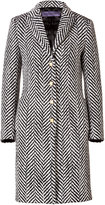 Ungaro Wool Chevron Coat
