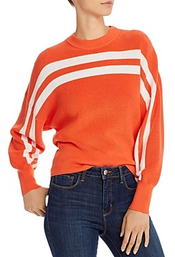 The Fifth Label Spur Striped Cotton Sweater