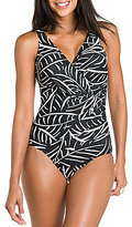 Miraclesuit Hard to be Leaf Oceanus Soft Cup One Piece