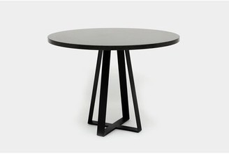 "Artless Sea Smoke Pub Table Color: Belgium Blue, Tabletop Size: 42"" H x 36"" L x 36"" W"