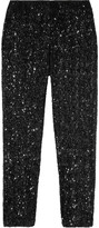 Alep cropped sequined pants