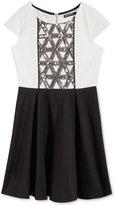 Sequin Hearts Sequin Party Dress, Big Girls (7-16)
