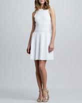 Theory Chloh Ribbed Knit Dress