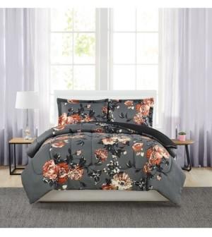 Pem America Manilla Floral Twin 3-Pc. Comforter Set Bedding