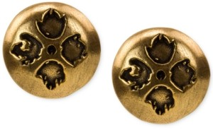 Patricia Nash Floret Dome Stud Earrings