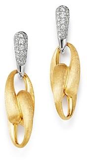 Marco Bicego 18K Yellow Gold & 18K White Gold Lucia Diamond Drop Earrings