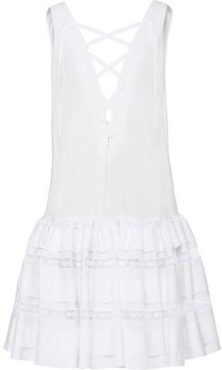 Prada Tiered Mini Dress
