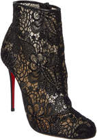 Christian Louboutin Miss Tennis 100 Lace Bootie