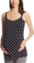 Leading Lady Women's Comfort Nursing and Maternity Cami Tank