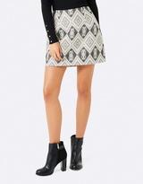 Forever New Sydney Jacquard Mini Skirt