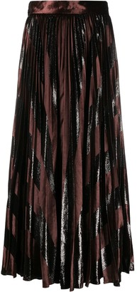 Dolce & Gabbana Pleated Long Skirt
