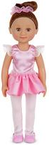 Melissa & Doug Victoria 14 Inch Ballerina Doll.