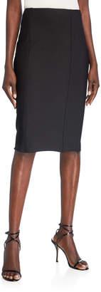 St. John Sculpted Milano Knit Pencil Skirt