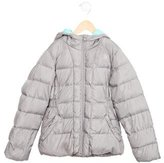 The North Face Girls' Hooded Down Coat