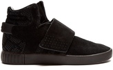 adidas Tubular Invader high-top suede trainers