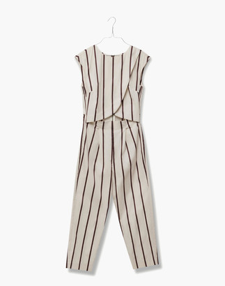 Madewell Madri Collection Crossover Jumpsuit