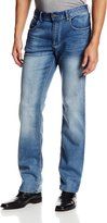 Buffalo David Bitton Men's Fred Calciet Slim Staright Drop Crotch Jean