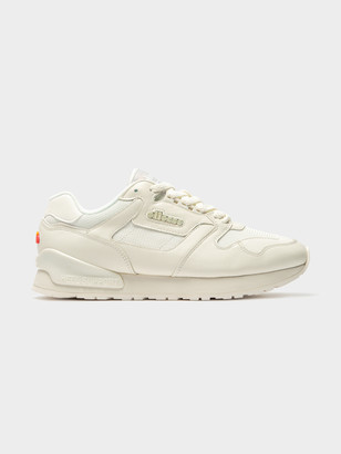 Ellesse Womens 147 Leather Sneakers in White