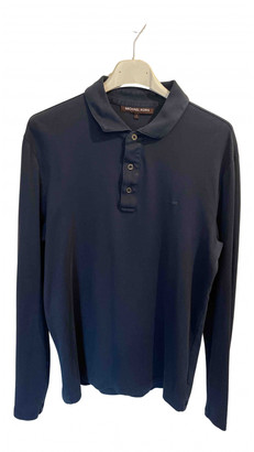 Michael Kors Navy Cotton Polo shirts