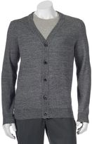 Apt. 9 Men's Modern-Fit Marled Merino Cardigan Sweater