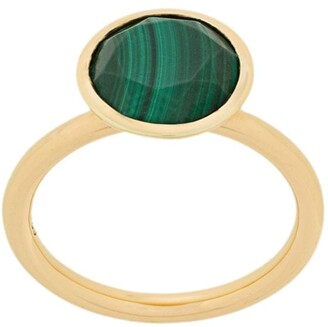 Astley Clarke large Malachite Stilla ring