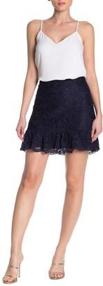 Draper James Tulip Lace Mini Skirt