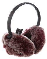 Adrienne Landau Fur Ear Muffs w/ Tags