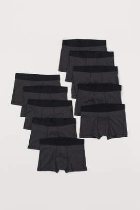 H&M 10-pack Short Boxer Shorts - Black