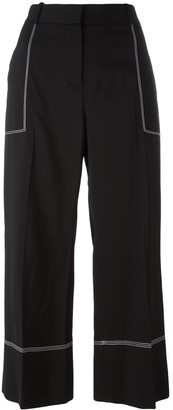 Ermanno Scervino Cropped High-Rise Pants
