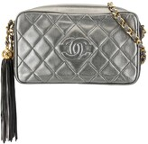 Chanel Pre Owned tassel quilted crossbody bag
