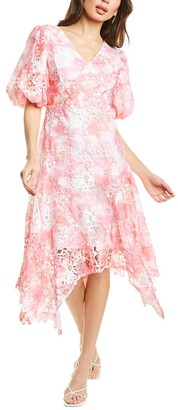 Beulah Lace Midi Dress