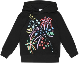 Stella McCartney Kids Printed cotton jersey hoodie