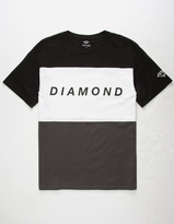Diamond Supply Co. College Panel Mens T-Shirt