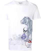 Alexander McQueen side printed T-shirt - men - Organic Cotton - XS