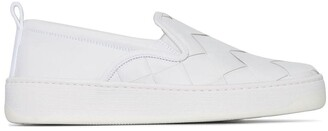 Bottega Veneta Maxi Intrecciato Weave Slip-On Sneakers