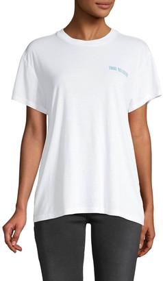 True Religion Short-Sleeve Graphic Logo Tee