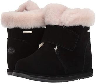 Emu Sommers (Toddler/Little Kid/Big Kid) (Black) Girls Shoes
