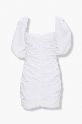 Forever 21 Ruched Sweetheart Dress
