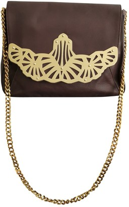 Kaviar Gauche Brown Leather Handbags