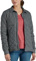 Dickies Women's Quilted Flannel Shirt Jacket