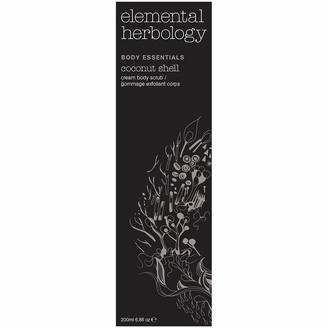 Elemental Herbology Coconut Shell Cream Body Scrub