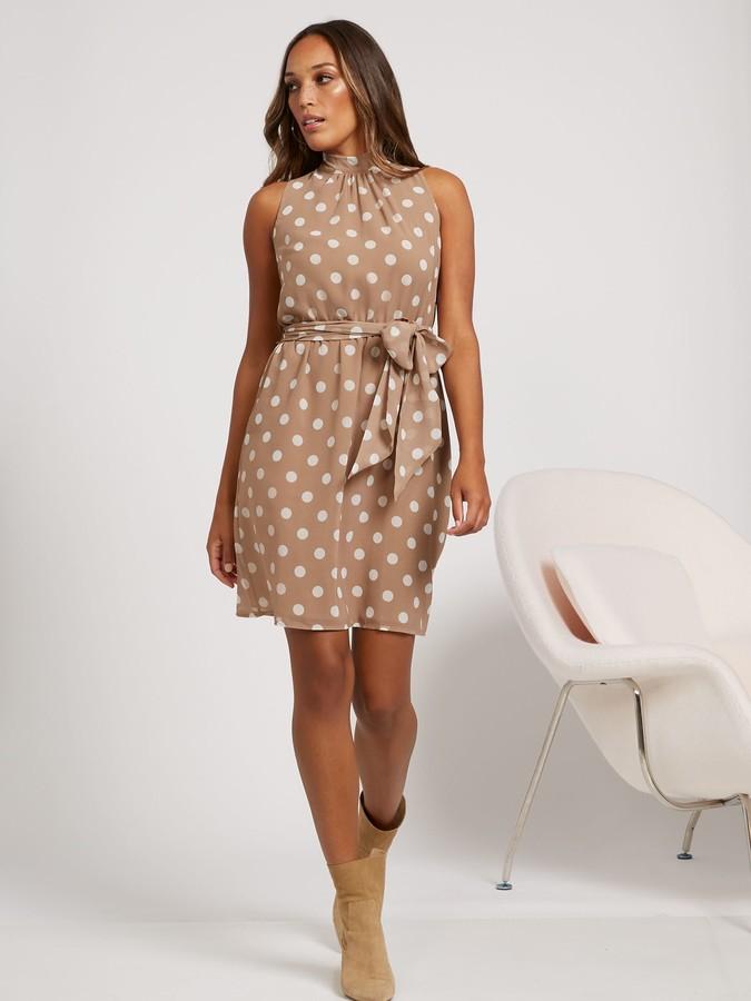 New York & Co. Sleeveless Halter Dress - Sweet Pea