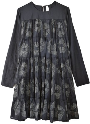 Merlette New York Soliman Embroidered Dress in Black