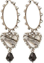 Alexander McQueen Hearth Locked Earring