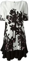 Antonio Marras floral print pleats dress