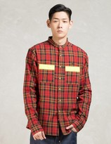 10.Deep Red L/S Safety First Workshirt